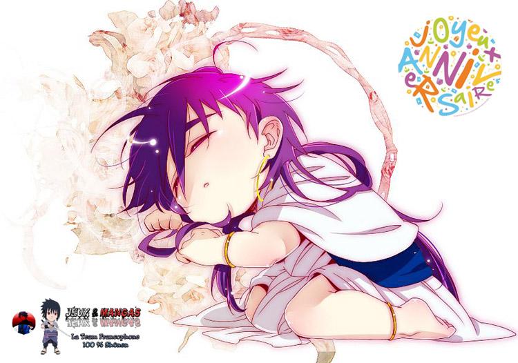 scan manga sinbad et Le quatrième anniversaire de la team Jeux et Mangas