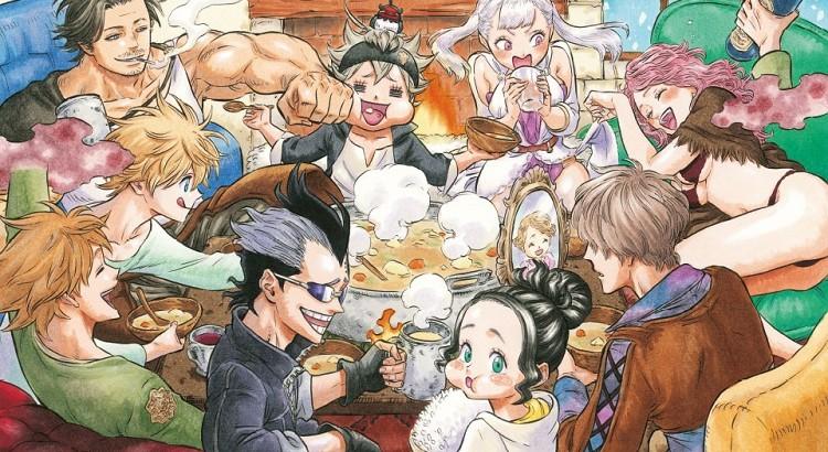 scan manga Black Clover fr